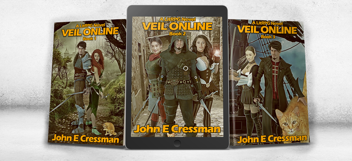 New VEIL Online Book Covers