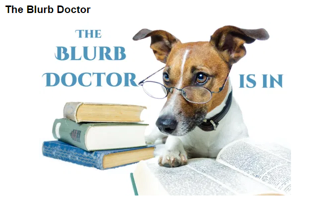 The Blurb Doctor is In