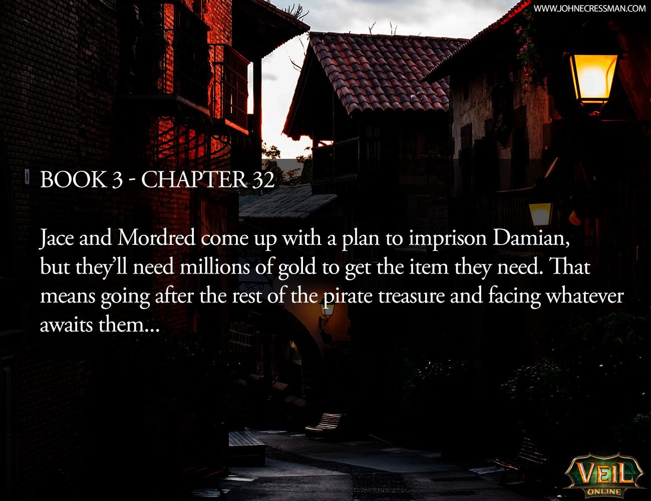 LitRPG Book 3 – Chapter 32 LitRPG Trilogy