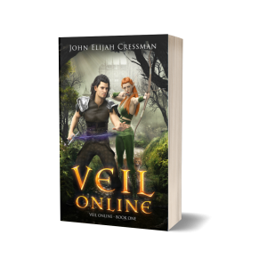 Veil Online Book 1 Paperback 3D