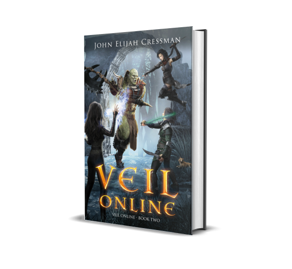 Veil Online Book 2 Hardcover Cover 3D