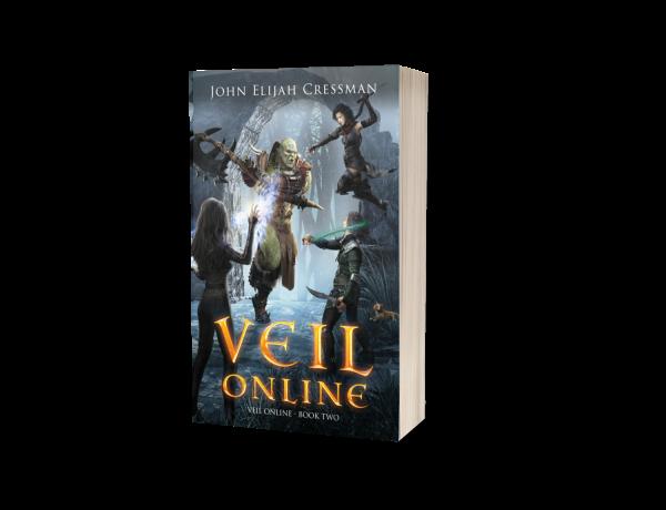 Veil Online Book 2 Paperback Cover 3D