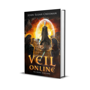 Veil Online Book 3 Hardcover Cover 3D