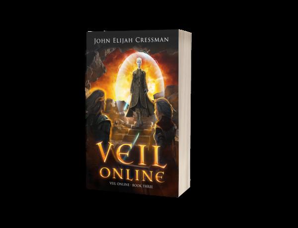 Veil Online Book 3 Paperback Cover 3D