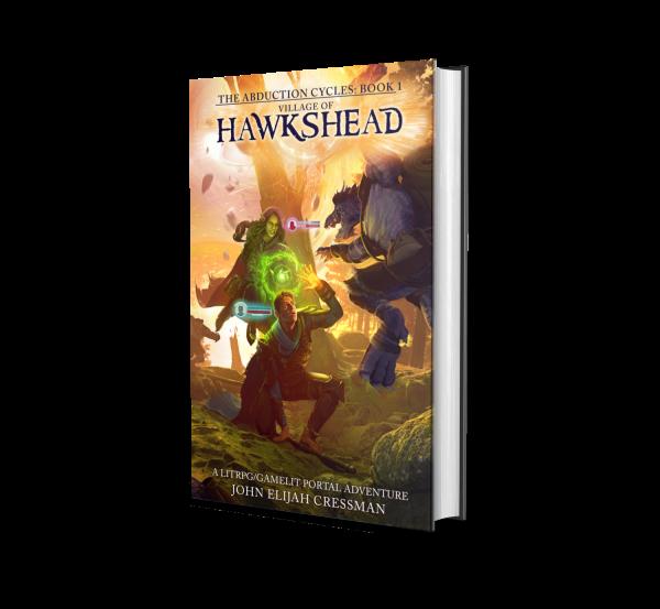 GameLit LitRPG Village of Hawkshead by John Elijah Cressman